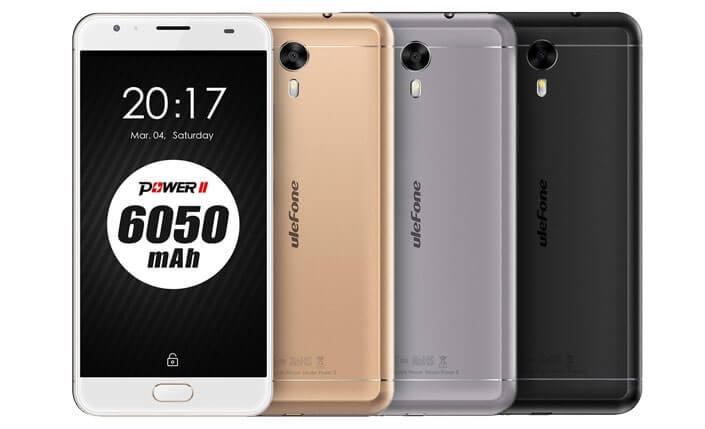 Ulefone Power 2 Лучшие китайские смартфоны 2017 года.