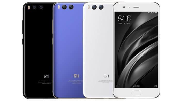 Xiaomi Mi6 64Gb Лучшие китайские смартфоны 2017 года.