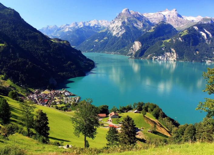 Швейцария, MORSCHAC, самые красивые страны мира