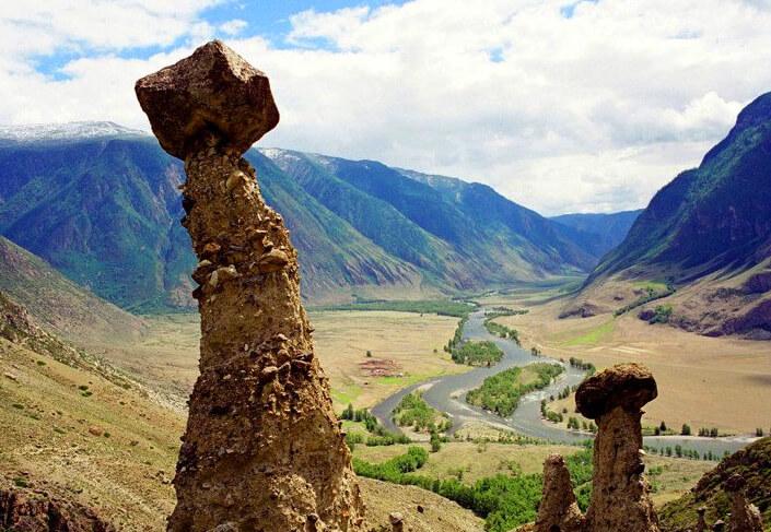 Урочище Аккурум, Самые красивые места России