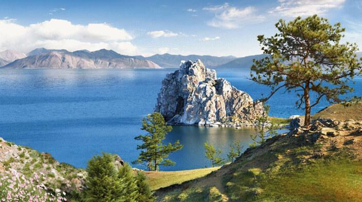 Озеро Байкал, Самые красивые места России.