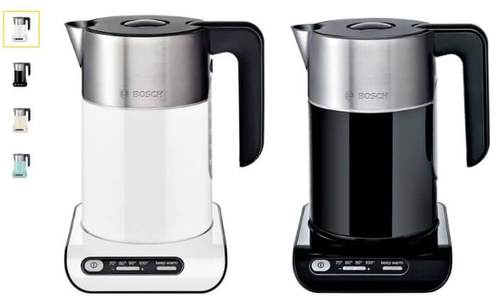 Bosch TWK 8611/8612/8613/8617 лучший электрический чайник 2017