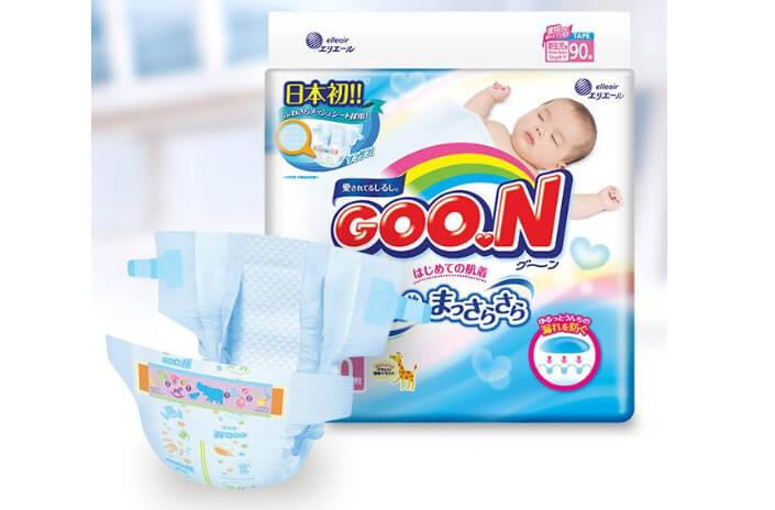 Goo.N японские подгузники и трусики