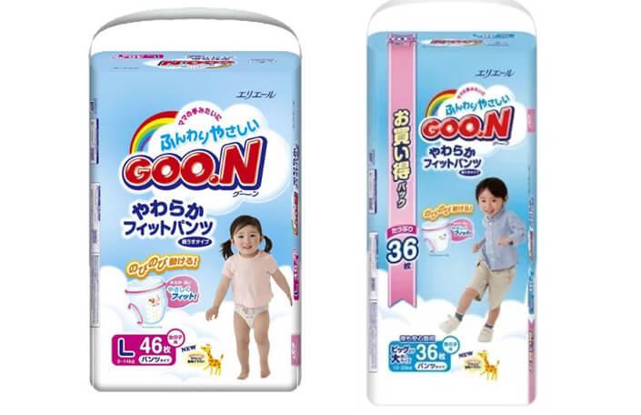 GooN - лучшие подгузники трусики