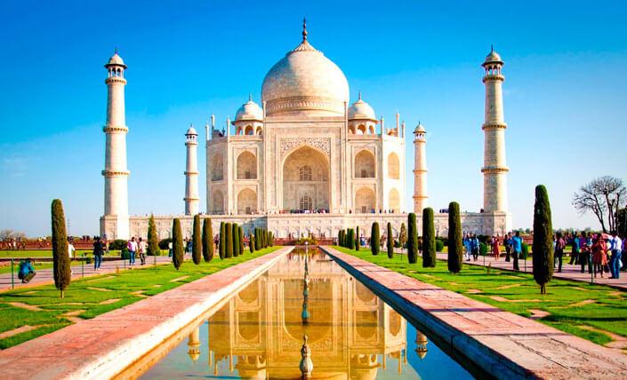 Индия. Тадж Махал в Агре. самые красивые страны 2017