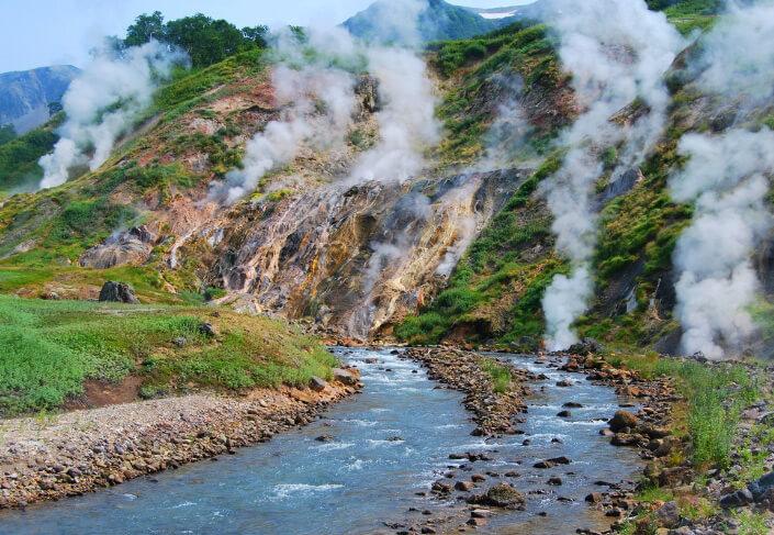Камчатка - долина гейзеров, Самые красивые места России