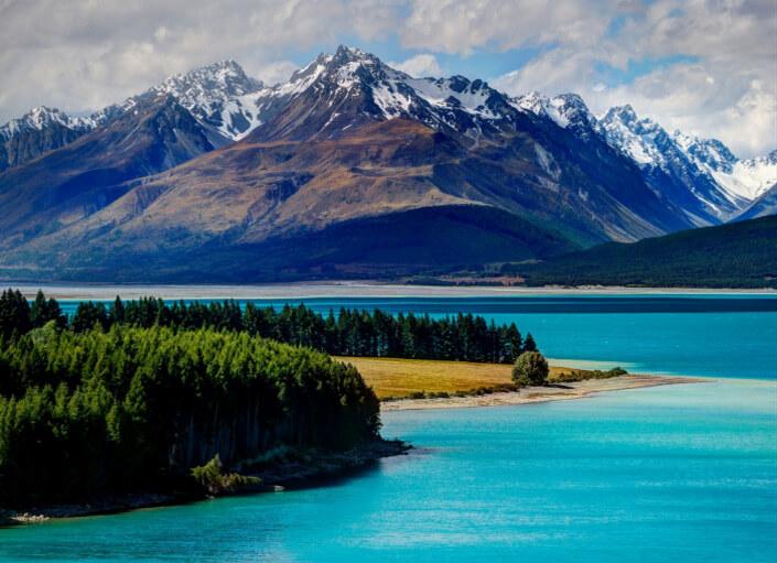 Новая Зеландия, Glacier Region, самые красивые страны мира