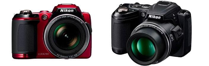 Лучший недорогой фотоаппарат 2017. Nikon Coolpix L120