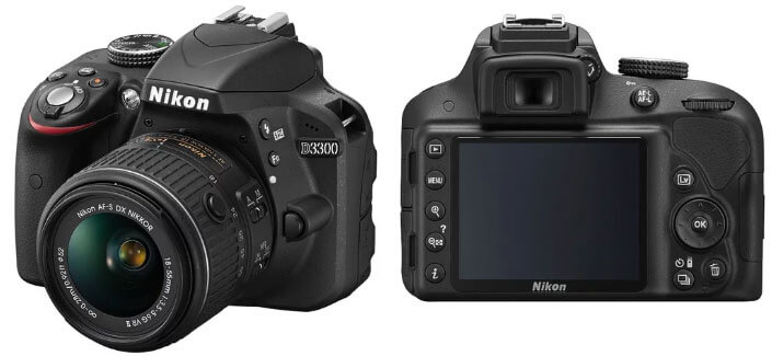 Nikon D3300  Лучший недорогой фотоаппарат 2017