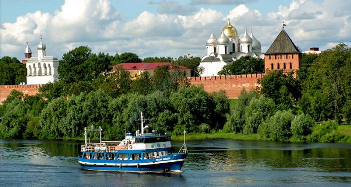 Великий Новгород, Самые красивые места России