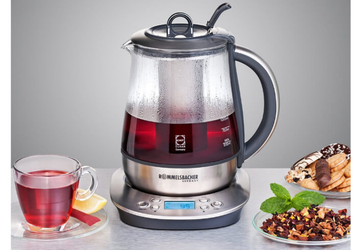 Rommelsbacher TA 1400 лучший электрический чайник 2017