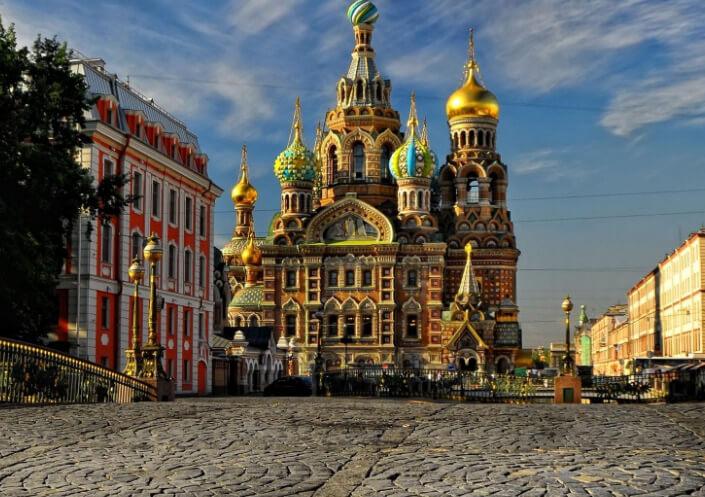 Санкт-Петербург. Собор Спаса на Крови, Самые красивые места России