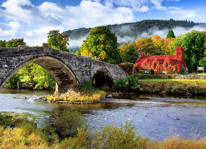 Великобритания, Wales, Llanrwst