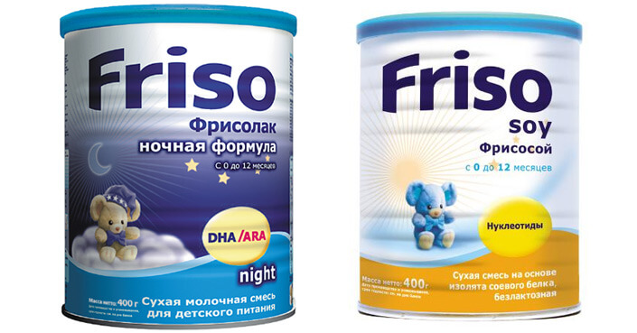 Friso детская смесь