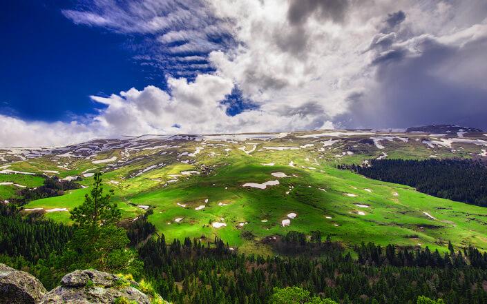 Плато Лагонаки, Самые красивые места России