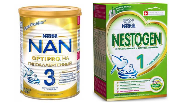 Nestlé детская смесь