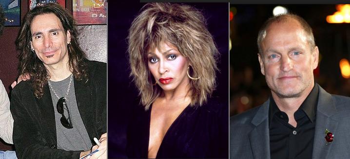 Стив Вай (Steve Vai), Тина Тернер (Tina Turner)/Анна Мэй Буллок, Вуди Харрельсон (Woody Harrelson),  известные вегетарианцы актеры и певцы