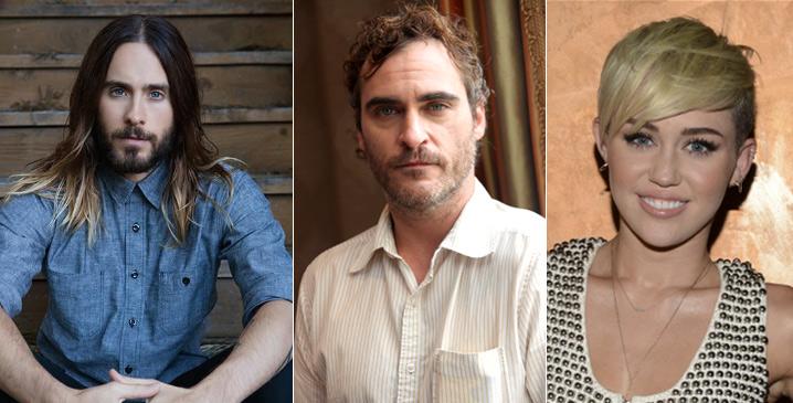 Джаред Лето (Jared Joseph Leto), Хоакин Феникс (Joaquin Phoenix), Майли Сайрус/Де́стини Хо́уп (Miley Cyrus), Звезды вегетарианцы знаменитости актеры
