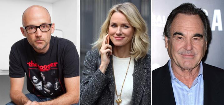 Moby (Richard Melville Hall/Moby), Наоми Уоттс (Naomi Watts), Оливер Стоун (Oliver Stone), Звезды вегетарианцы знаменитости актеры