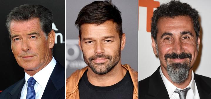 Пирс Броснан (Pierce Brosnan), Рики Мартин (Ricky Martin), Серж Танкян (Serj Tankian) известные вегетарианцы актеры и певцы
