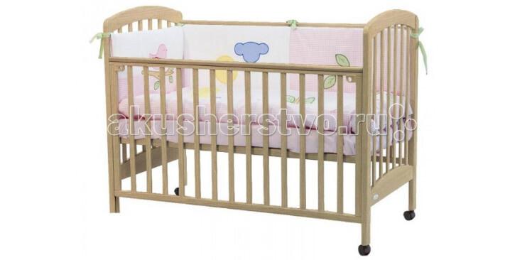 Fiorellino Dalmatina 120х60. лучшая детская кроватка