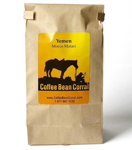 Мокко Матари (Mocca matari),Йемен. Рейтинг зернового кофе 2018.