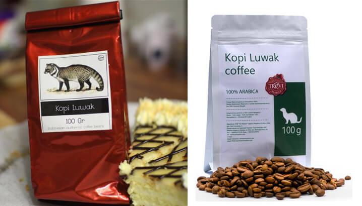 Civet или Kopi Luwak. Рейтинг зернового кофе 2018.