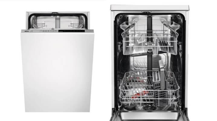 AEG FSR 83400 P. Лучшая встраиваемая посудомоечная машина 45см
