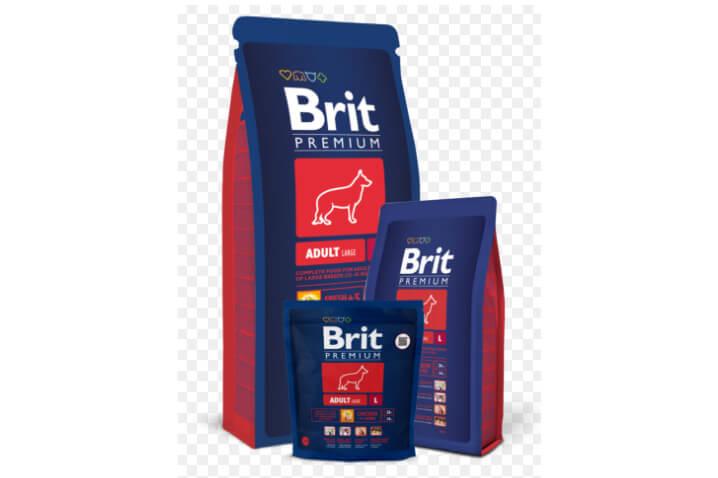 Brit Premium Adult для крупных пород. Рейтинг лучших сухих кормов для собак 2018
