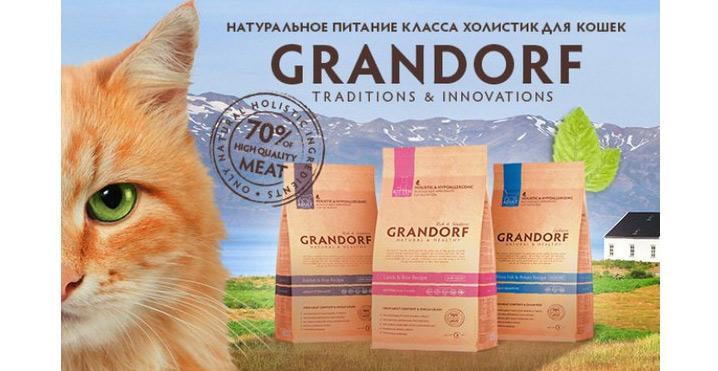 Корм GrandorfЛучшие сухие корма для кошек.