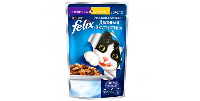 Felix Аппетитные кусочки с курицей