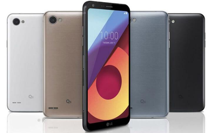 LG Q6+. Лучшие смартфоны до 20000 рублей