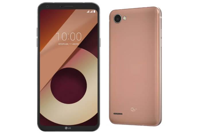 LG Q6a M700. Лучшие смартфоны до 15000 рублей 2017-2018 года