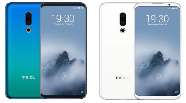 Meizu 16th 8/128GB, Лучшие смартфоны 2018 года.