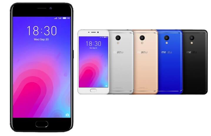 Meizu M6 32GB. Лучшие смартфоны до 15000 рублей 2017-2018 года