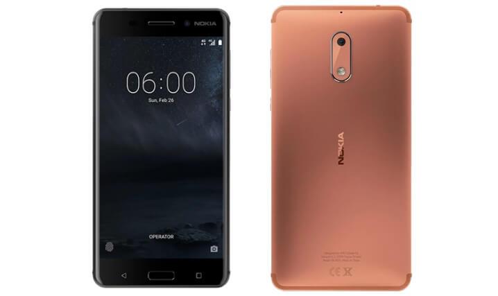 Nokia 6 32GB. Лучшие смартфоны до 15000 рублей 2017-2018 года