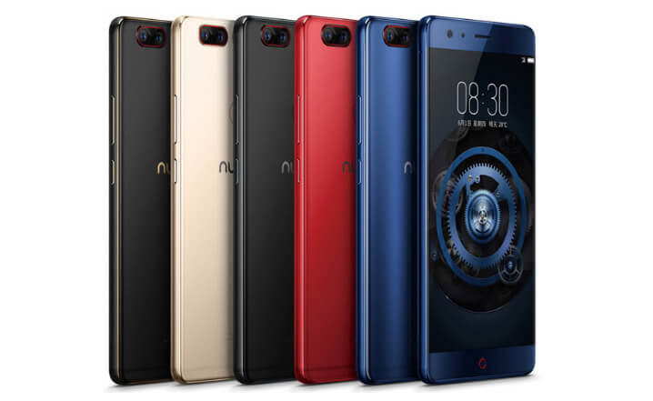 ZTE Nubia Z17. лучший китайский смартфон 2018