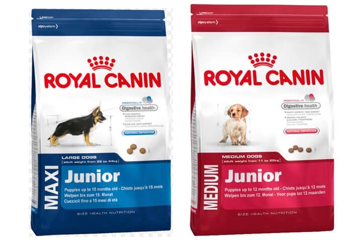 Royal Canin Junior. Рейтинг лучших сухих кормов для собак 2018