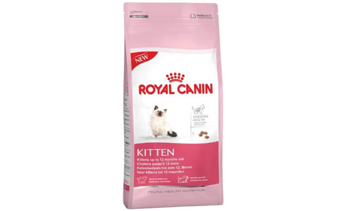 Корм Royal Canin Kitten. Лучшие сухие корма для кошек.