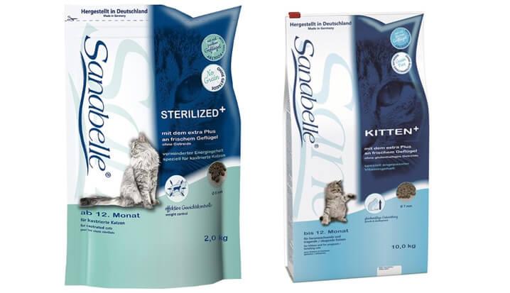 Sanabelle Sterilized - лучший сухой корм для стерилизованных кошек