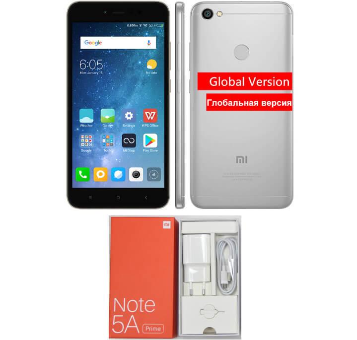 Xiaomi Redmi Note 5A. Лучшие смартфоны 2018 до 10000 рублей