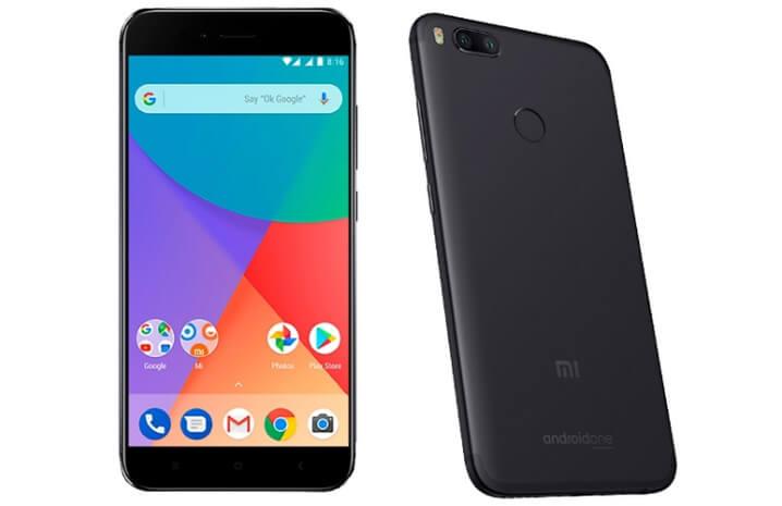 Xiaomi Mi A1 64GB. Лучшие смартфоны до 15000 рублей 2017-2018 года