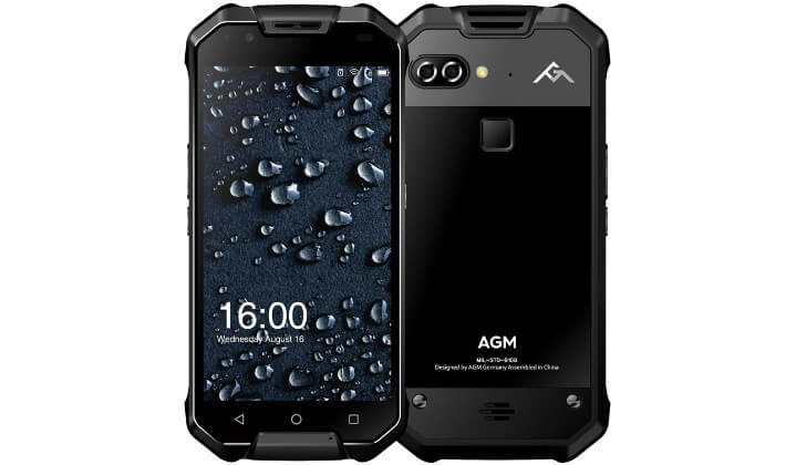 Смартфон AGM X2 64GB лучший ударопрочный смартфон 2018