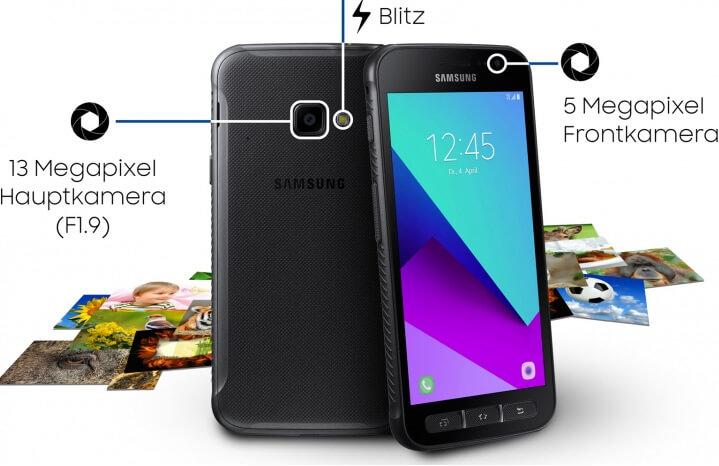 Samsung Galaxy Xcover 4 лучший защищенный смартфон 2018