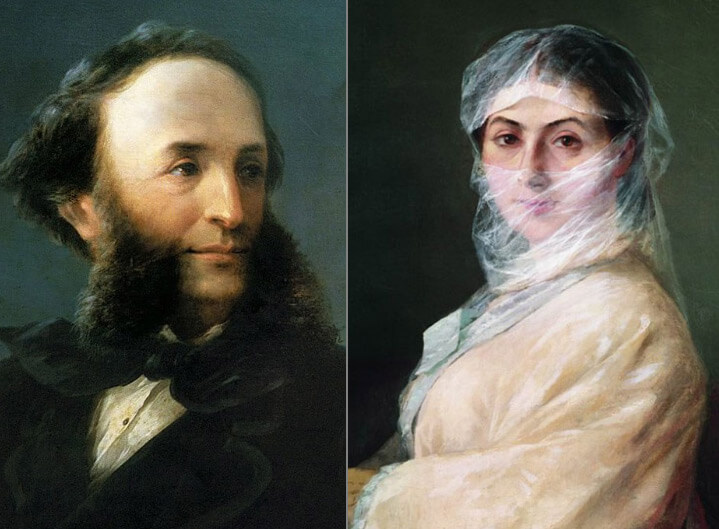 Ива́н Константи́нович Айвазо́вский (Ованнес Айвазян) и вторая жена Анна Саркисова-Бурназян Известные армяне