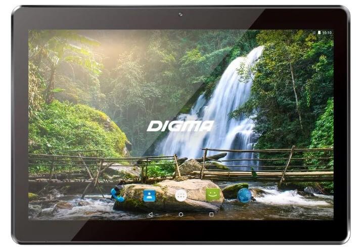 Digma Plane 1559 4G. Лучшие планшеты 2018