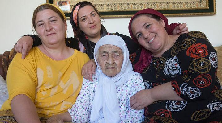 Коку Истамбулова, долгожители мира