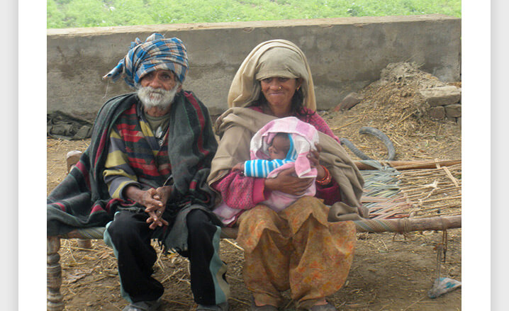 96-летний индиец по имени Рамджит Раджав.