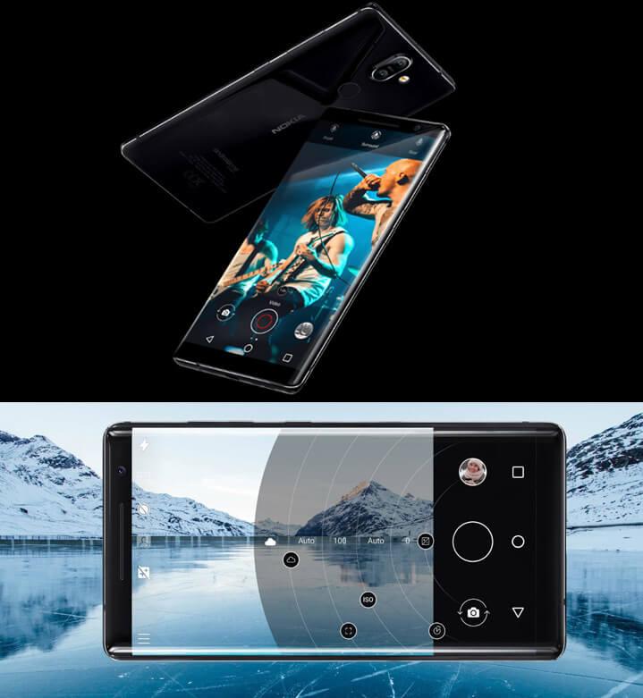 Nokia 8 Sirocco. Cмартфоны 2018 года новинки