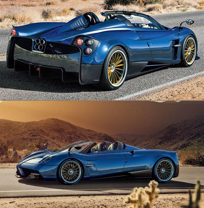 Pagani Huayra Самые красивые машины